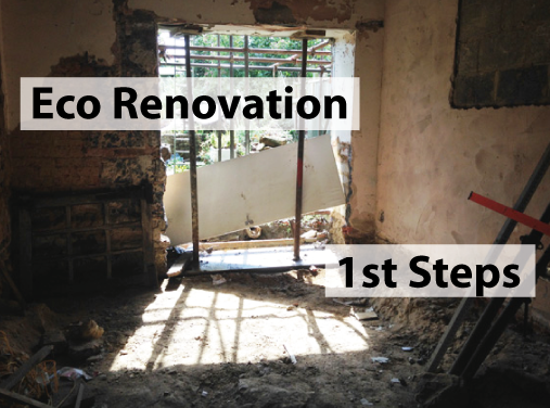 First steps of eco renovation