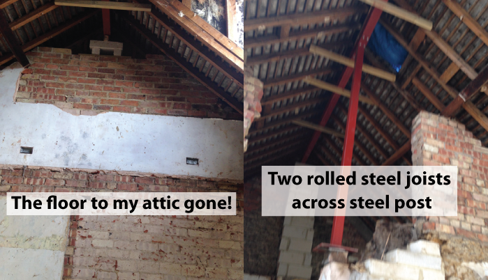 Floor-to-the-attic-gone