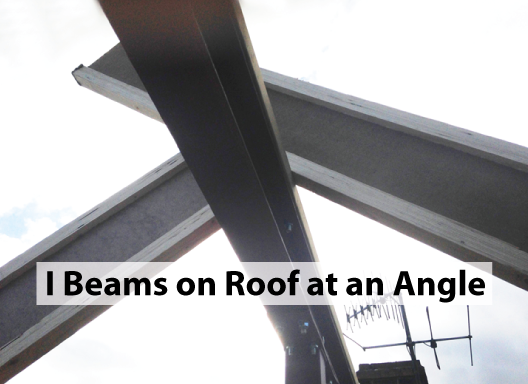 i-beams-on-roof-at-an-angle
